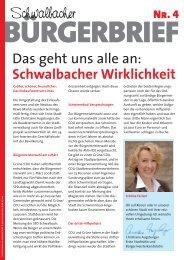 Schwalbacher - Nancy Faeser MdL