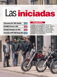 KYMCO Venox 250 6 3 - Aguilas Moto Custom Club