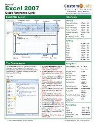 Excel 2007 - ITC
