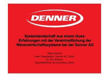 Vorstellung Denner AG - i2s