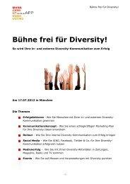 Bühne frei für Diversity! - Sonja App Management Consulting