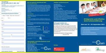 1. Erfolgreiche und effektive Unternehmensführung - ziel-mc.de
