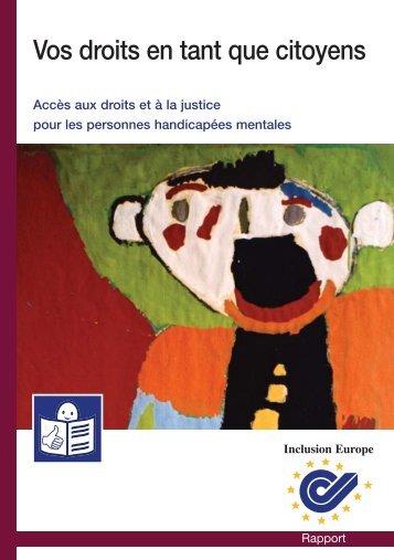 Accès aux droits et à la justice pour les personnes ... - CFHE