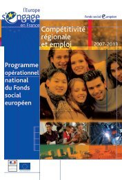 FSE - Programme Opérationnel - Europe en Provence-Alpes-Côte d ...