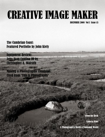CREATIVE IMAGE MAKER MAGAZINE - 1