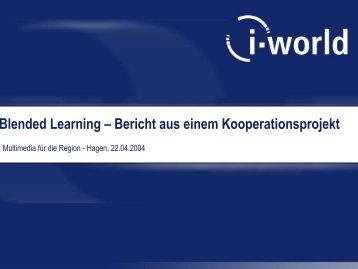 Blended Learning – Bericht aus einem Kooperationsprojekt