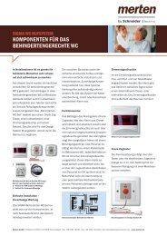 SIGMA-Rufanlage System M - Merten
