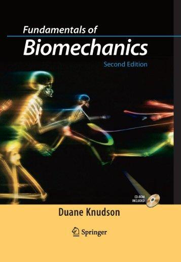 Fundamentals of Biomechanics.pdf - Profedf.ufpr.br