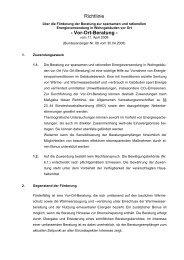 Richtlinie - Vor-Ort-Beratung -