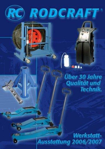 Werkstattkräne und Zubehör - Pressluft Schäfer Gmbh