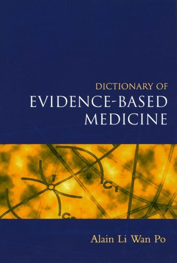 Dictionary of Evidence-based Medicine.pdf