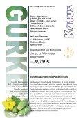 Gurken-Rahmgemüse - Metzgerei und Partyservice KATUS - Page 7