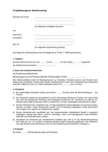 Teilzeit Arbeitsvertrag Gruender Mvde