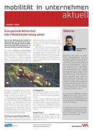 Newsletter - Umwelt-/ Gesundheitsschutz - Winterthur