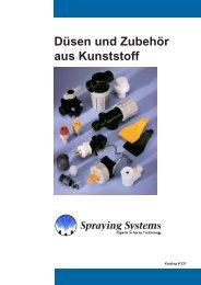 Allgemeine Anwendungen Teil 2 - Spraying Systems Deutschland ...