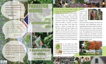 THURSTON WOODS - Agape Community Center