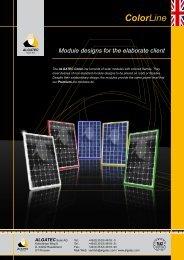 Colorline - ALGATEC Solar AG