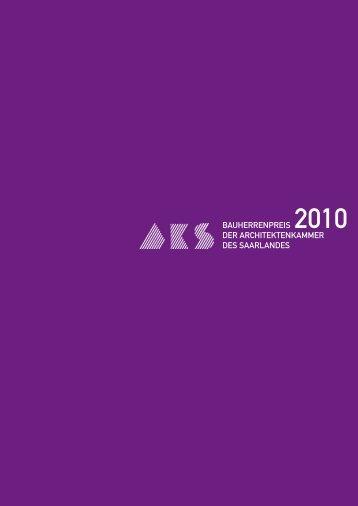bauherrenpreis 2010 der architektenkammer des saarlandes
