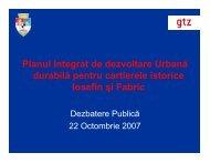 Planul Integrat de dezvoltare Urbană durabilă pentru cartierele ...