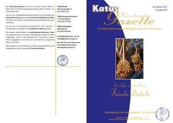 Chorizo-Datteln - Metzgerei und Partyservice KATUS