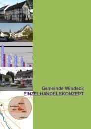 Gemeinde Windeck EINZELHANDELSKONZEPT