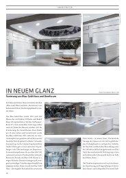 IN NEUEM GLANZ - CUBE Magazin