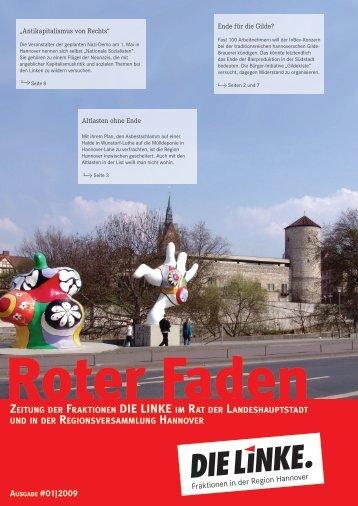 AusgAbe #01 2009 - DIE LINKE. Fraktion im Rat der ...