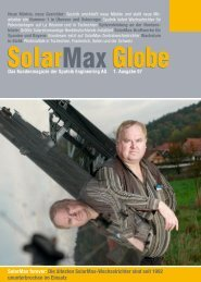 Solarmax Magazin