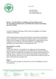 Nya föreskrifter och allmänna råd om ledningssystem för ...