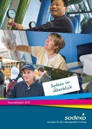 Sodexo im Überblick - Geschäftsjahr 2010