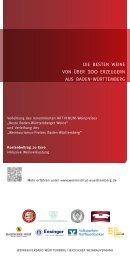 Info-Flyer - Weinbauverband Württemberg eV