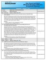 Agenda - ACWA