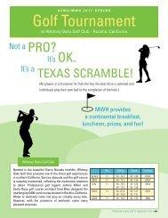 Golf Tournament - ACWA