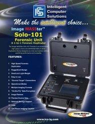Image MASSter Solo-101 Forensic unit - Ics-Iq.com
