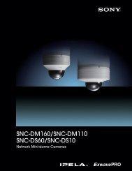 Download Sony's DM/DS Megapixel Line Brochure Now
