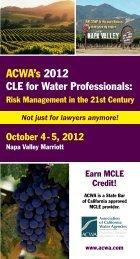 ACWA's 2012