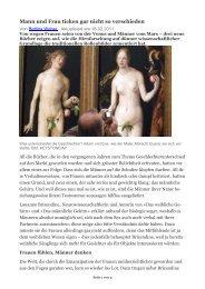 Mann und Frau ticken gar nicht so verschieden - BPW Bern