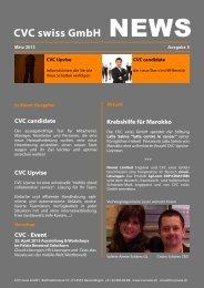 CVC swiss GmbH NEWS - BPW Bern