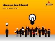 Ideen aus dem Internet - BPW Bern