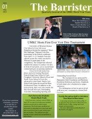 here - UMKC School of Law - University of Missouri - Kansas City