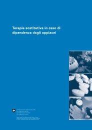 Terapia sostitutiva in caso di dipendenza dagli oppiacei - admin.ch