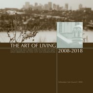The Art of Living - Edmonton Arts Council