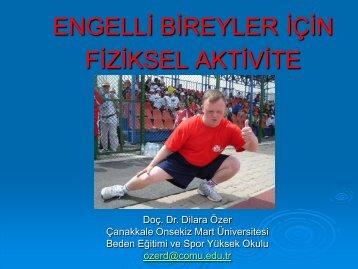 Engelliler için Teknolojiye Dayalı Yeni Eğitim Ortamları - EBFAD
