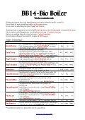 Bio Boiler Bio Boiler - Fyrteknik - Page 6