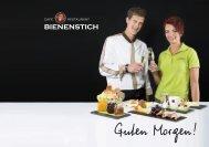 Cafe Restaurant Bienenstich in Reith im Alpbachtal | Frühstückskarte