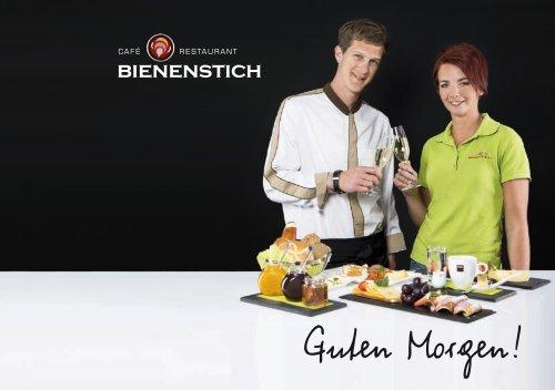 Cafe Restaurant Bienenstich in Reith im Alpbachtal   Frühstückskarte