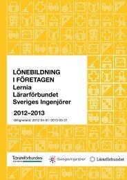 Avtal om lönebildning i Lernia AB, Lernia Utbildning ... - Skolledarna
