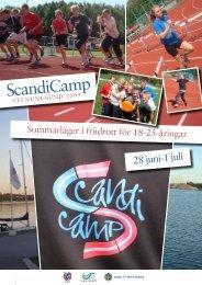 ScandiCamp - Svenska Friidrottsförbundet