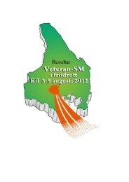 Resultat från VSM i Kil den 3-5 augusti