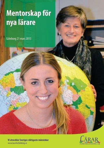 Mentorskapskonferensen 2013 program.pdf - Lärarfortbildning